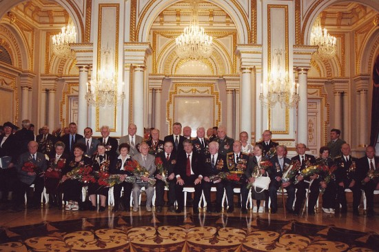 Маріїнський палац. 2005. Нагородження Президентом України