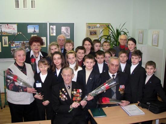 Зустріч учнів Скандінавської гімназії з ветеранами та свідками війни