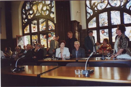 Міжнародна діяльність УСВЖН, Дойсбург 2002 р.