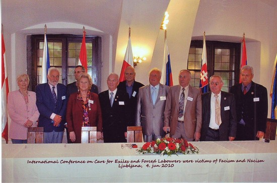 Міжнародна діяльність УСВЖН, Словенія