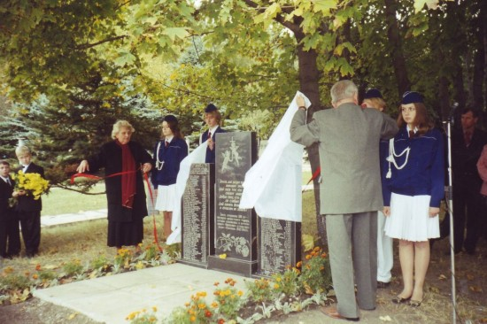 Відкриття пам'ятного знаку в м. Макеєвка