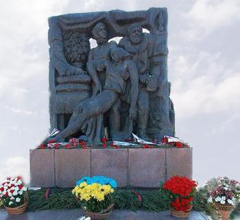Меморіал на честь героїчного опору жителів Корюківщини фашистським загарбникам