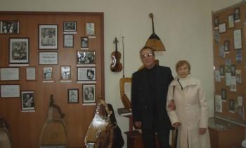 Свідок трагедії Діана Степанівна Корнієвська і директор музею