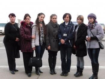 группа волонтеров из Днепропетровска на экскурсии в Аушвице октябрь 2011