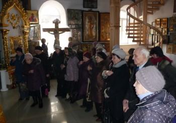 панихида по замученным в время ВОВ в Тихвинском женском монастыре