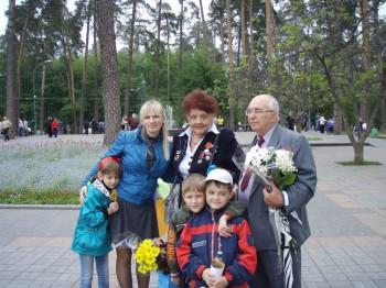 Члени Української спілки в'язнів – жертв нацизму відзначили «День Перемоги»