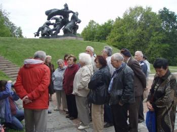 Члени УСВЖН вшанували пам'ять загиблих на Букринському плацдармі