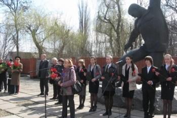 Мітинг пам'яті жертв нацизму