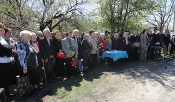 Відкриття меморіальної дошки Таісії Тонконог