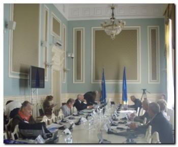 Засідання Комітету Міжнародного Європейського Конгресу жертв фашизму і нацизму 1920 -1945 років 14 вересня 2012 року в Києві