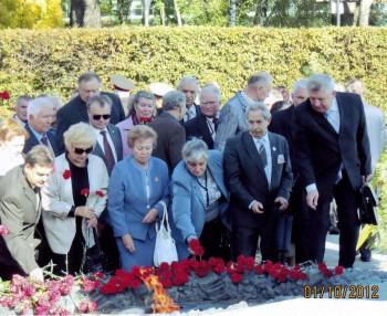 Учасники ІІ Всеукраїнського форуму ветеранів України 01.10.2012