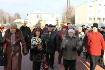 Вшанування пам'яті у Корюківці