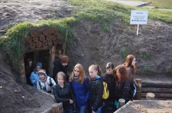 Учасники проектів в бліндажі генерала М. Ф. Ватутіна