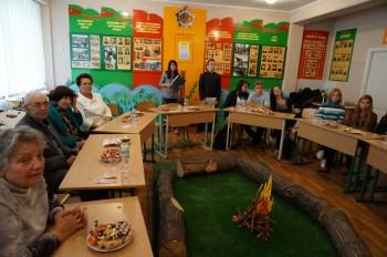 Круглий стіл у Музеї партизанської слави Київщини в школі № 289 м. Києва.