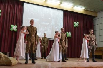Концерт був найкращим подарунком ветеранам від учнів ліцею «Наукова зміна»