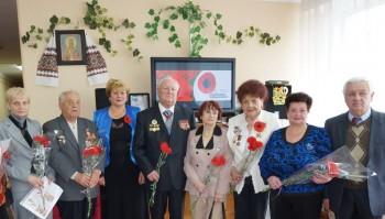 Хвилюючою була святкова зустріч ветеранів з учнівським та педагогічним колективом Лінгвістичної гімназії на Троєщині