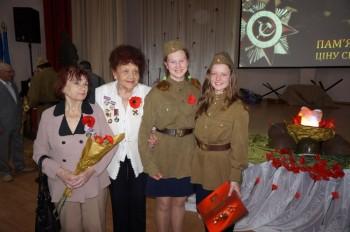 Членів УСВЖН також радо вітали юні артисти столичної гімназії «Київська Русь»