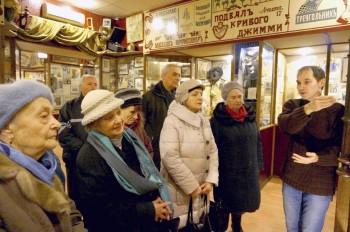 На фото: учасники проекту в столичному Музеї Однієї Вулиці