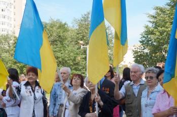 Представники УСВЖН беруть участь в церемонії підняття Державного Прапора України