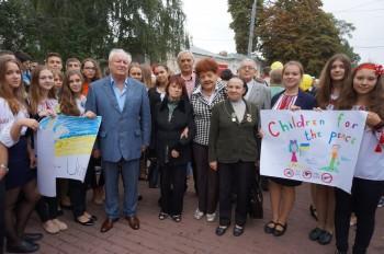 Представники УСВЖН разом з молоддю взяли участь в заходах з нагоди Міжнародного дня миру