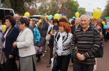 Члени УСВЖН серед учасників урочистої ходи за мир