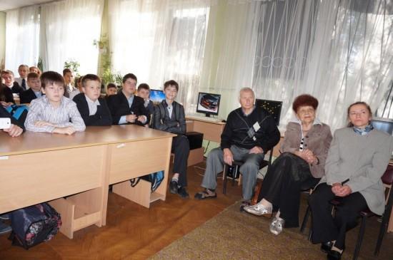Під час аудіовізуальної презентації долі Любові Павлівни Кривосницької